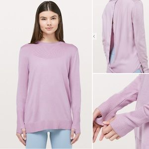 Stylish & Soft Lululemon Still At Ease Pullover